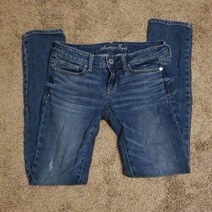 AE American Eagle jeans stretch skinny 4